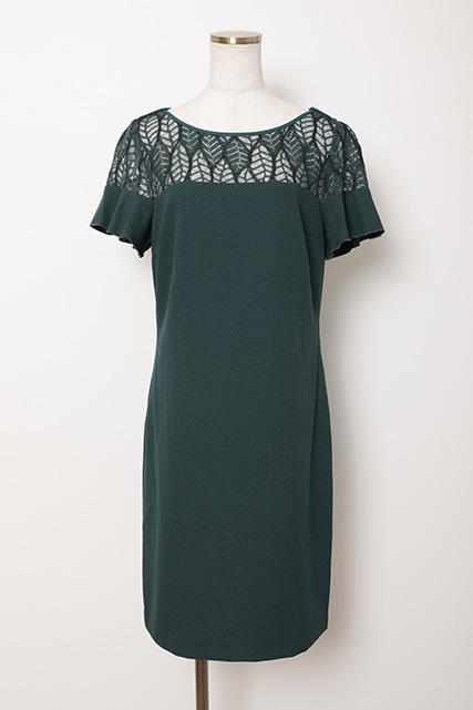 レンタルドレス袖付ドレス